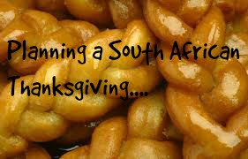 Planning a South African Thanksgiving